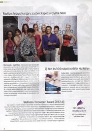 Nailpro - Fashion Awards Hungary - szobrot kapott a Crystal Nails!