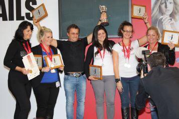 Jöttek, láttak, győztek: Crystal Nails csapatgyőzelem, a Londoni Körömolimpián