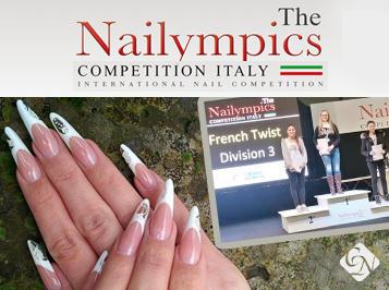Nailympics Rome 2014: tripla magyar Crystal Nails siker az olasz fővárosból