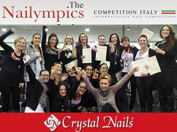 Elképesztő olasz éremeső: a Crystal Nails olasz csapata 16 érmet nyert a Nailympics Rome 2014-en