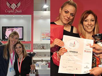 Európa-Bajnokságra kvalifikált a Crystal Nails görög versenyzője