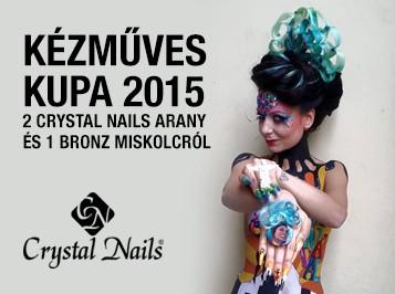 Kézműves Kupa 2015: 2 Crystal Nails arany és 1 bronz Miskolcról