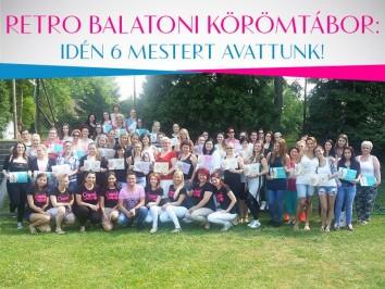 Retro Balatoni Körömtábor: Idén Hat mestert avattunk